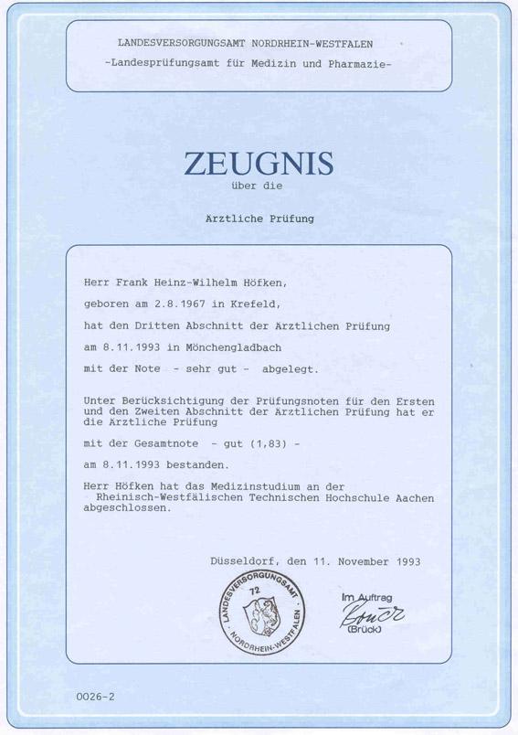 Staatsexamen Dr Frank Hfken